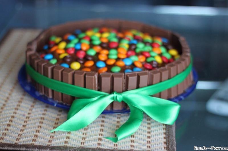 Торт из китката своими руками 4