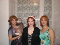 с Леной и мамкой...... и с фоксом :)