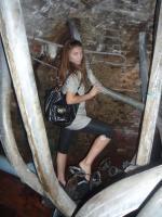 Под фонтанами Петергофа =)
