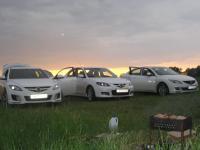 г. Воскресенск. встреча Mazda Club